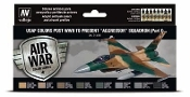17ml Bottle USAF Colors Post WWII to Present Aggressor Squadron Part 1 Model Air Paint Set (8 Colors)
