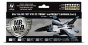 17ml Bottle USAF Colors Post WWII to Present Aggressor Squadron Part 2 Model Air Paint Set (8 Colors)