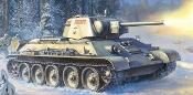 Soviet T34/76 Mod 1943 Uralmash Medium Tank