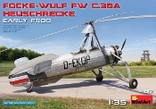 Focke Wulf FwC30A Heuschrecke (Grasshopper) Early Prod Two-Seater Autogyro