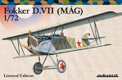 Fokker D VII (MAG) BiPlane Fighter (Ltd Edition Plastic Kit)