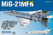 MiG21MFN Czech Jet Aircraft (Wkd Edition Plastic Kit)