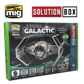 HOW TO PAINT IMPERIAL GALACTIC FIGHTERS SOLUTION BOX
