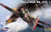 Marcel Bloch MB151C1 Fighter