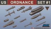 US Ordnance Weapons Set for F14D #88007