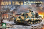 WWII King Tiger SdKfz 182 Late Production Heavy Tank (2 in 1)