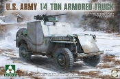 US Army 1/4-Ton Armored Truck