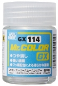 Mr. Color Super Smooth Clear Flat 18ml Bottle