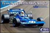1/20 1971 Tyrrell 003 Monaco Grand Prix Race Car
