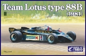 1/20 1981 Lotus Type 88B Team Lotus F1 Race Car
