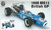 1/12 1968 MS11 British Grand Prix Race Car