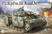 PzKpfw III Ausf N Tank w/Side-Skirt Armor (New Variant)