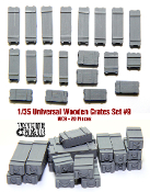 1/35 Generic crates set #009