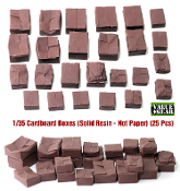 1/35 Carboard Boxes (Resin) # 001