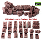 1/35 Potato Harvest (Resin) # 001