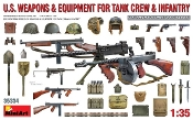 WWII US Tank Crew & Infantry Weapons & Equipment