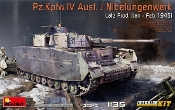 WWII PzKpfw IV Ausf J Nibelungenwerk Late Production Tank w/Full Interior
