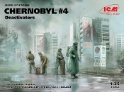 Chernobyl #4: Deactivators Diorama Set (4 figures, base, background)