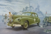 WWII 1941 Packard Clipper US Army Staff Car