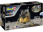 Apollo 11 Lunar Module Eagle w/paint & glue