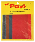 Flex-I-File Abrasive Sheets